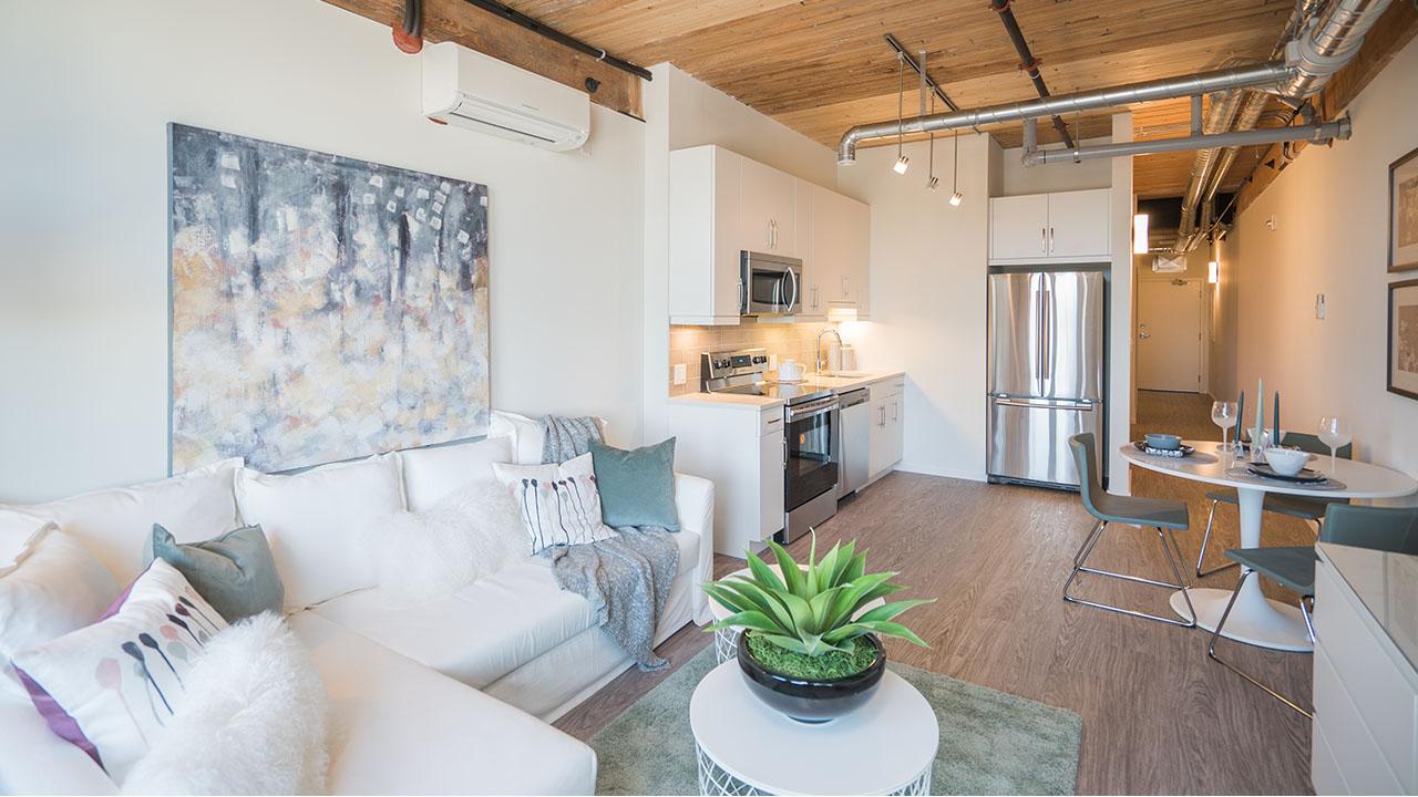 StreetSide Winnipeg - District Condos - Kitchen