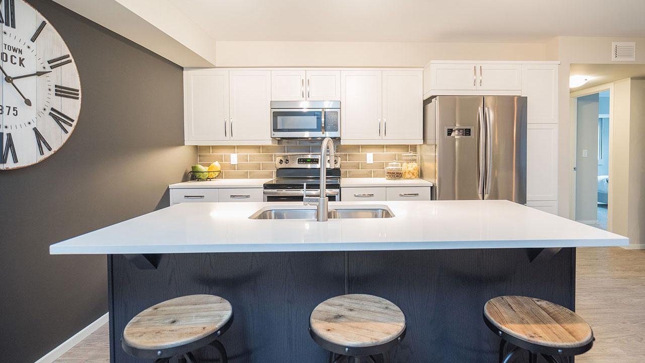 StreetSide Winnipeg - Metro Condos - Kitchen